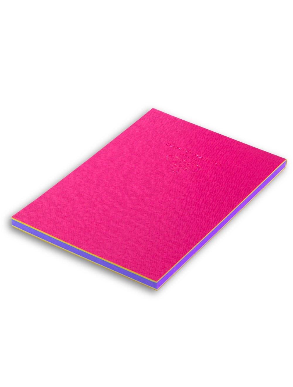 Notes 15 X 21 Cm Saffiano - Hot Pink