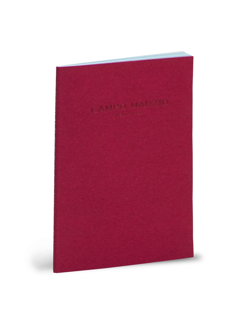 Quaderno medio Campo Marzio - Rosso Ciliegia