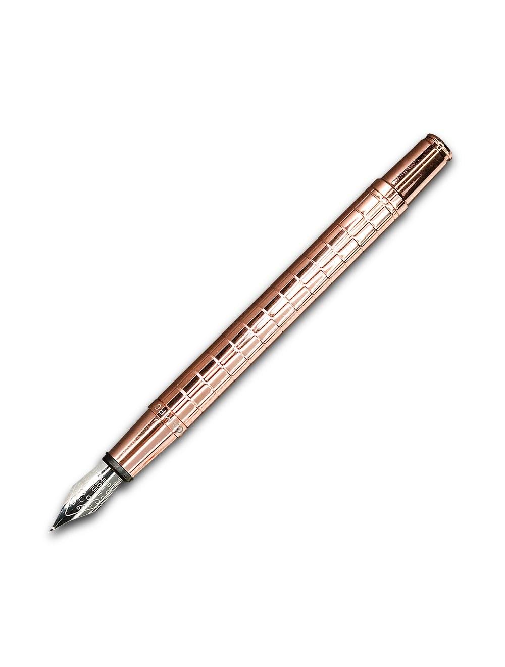 Tesi  Slim Fountain Pen - Gold Rose