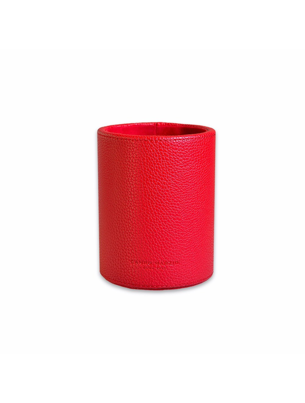Round  Pen Holder - Cherry Red