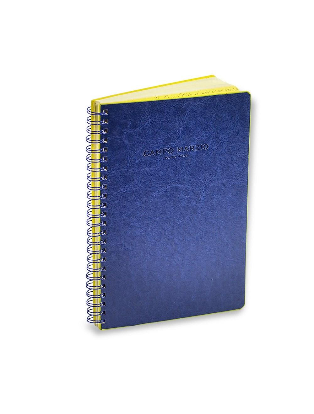 Spiral Bound Notes A4 - Ocean Blue