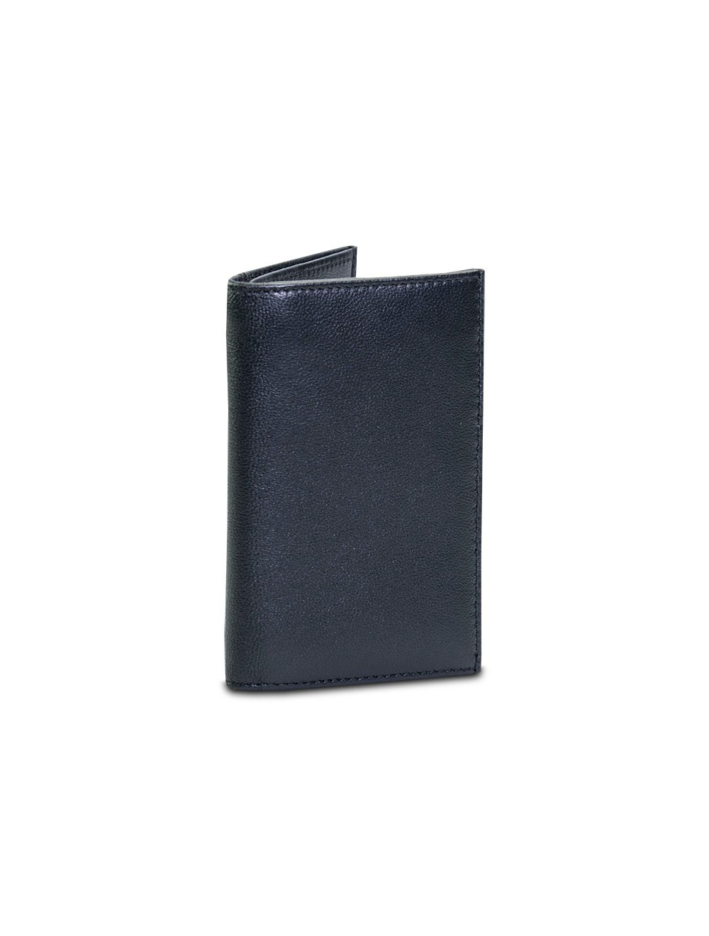 Double Business Card And Credit Card Holder - Black