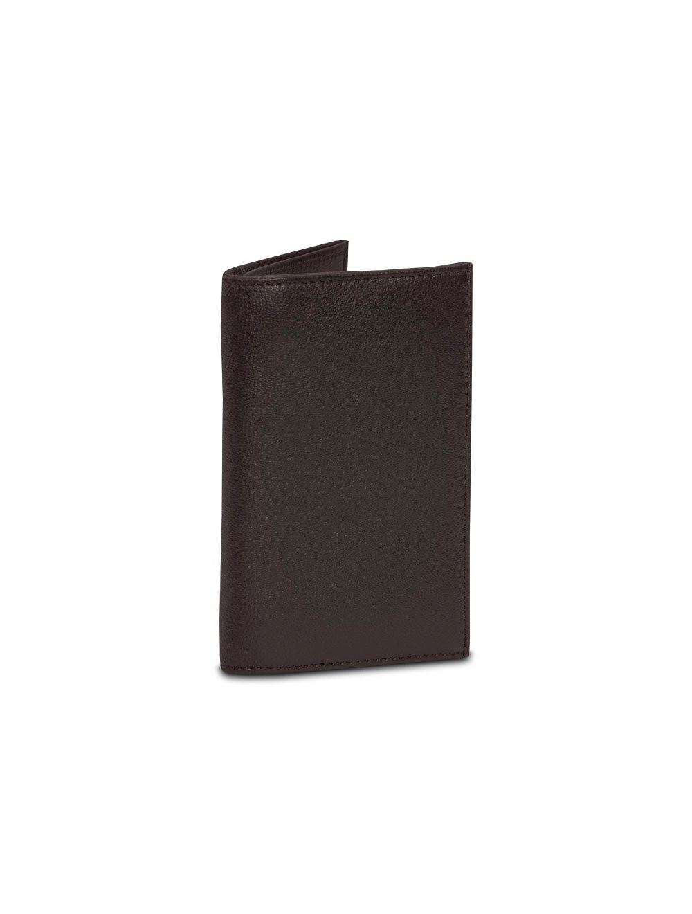 Double Business Card And Credit Card Holder - Brown