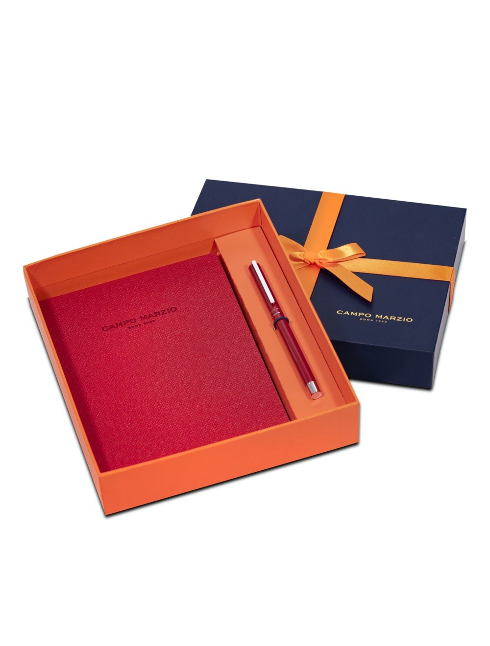 Gift Set Unix and Journal - Cherry Red