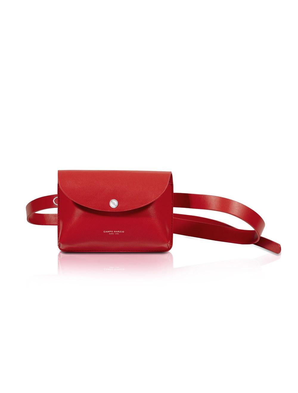 Belt Bag - Cherry Red