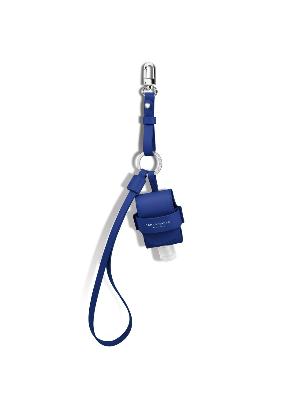 Keychain with Mini Pouch Dispenser - Blueberry