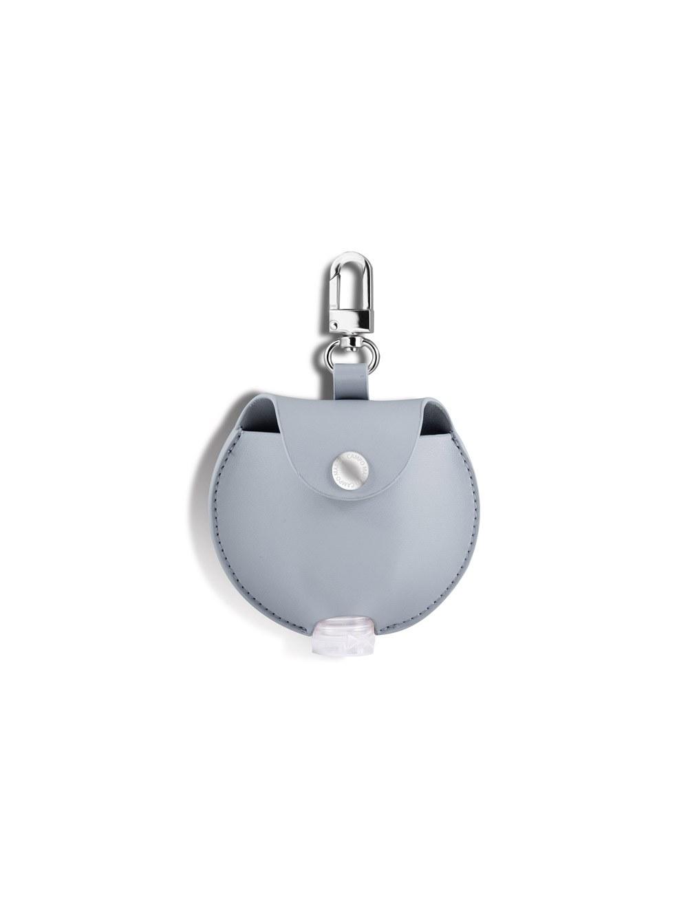 Mini Round Pouch Dispenser - Baby Blue
