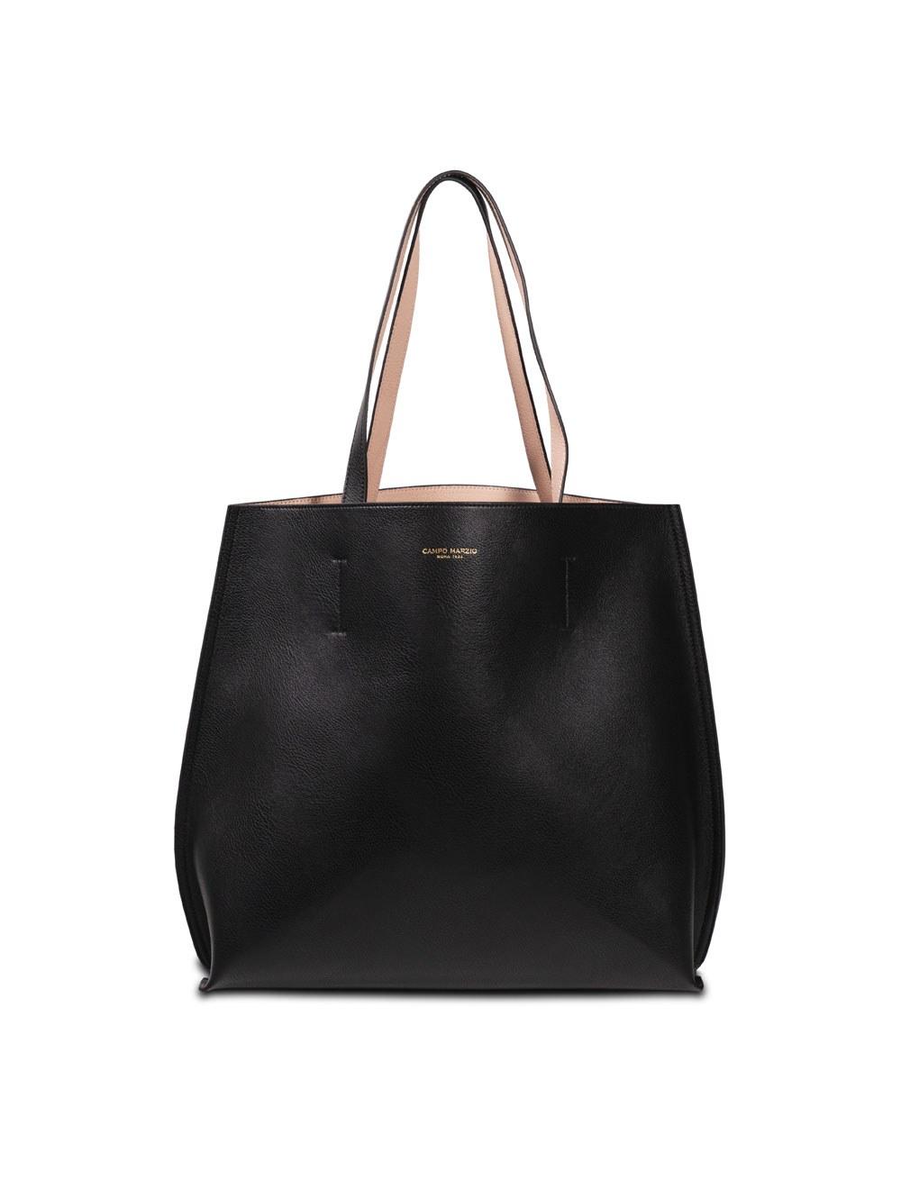 Double Tote Bag - Black