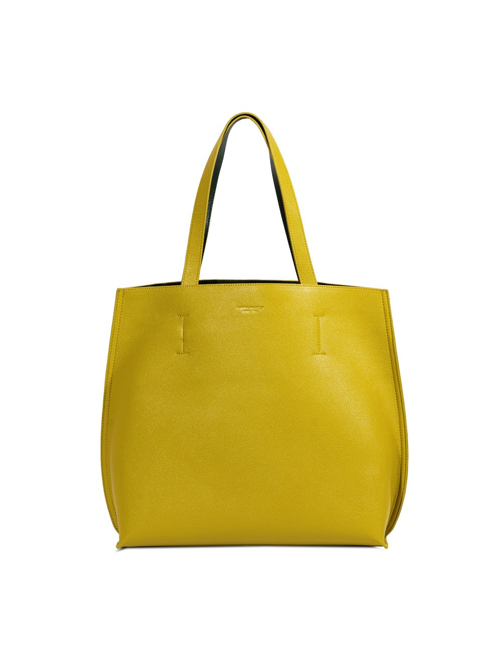 Double Tote Bag - Chartreuse