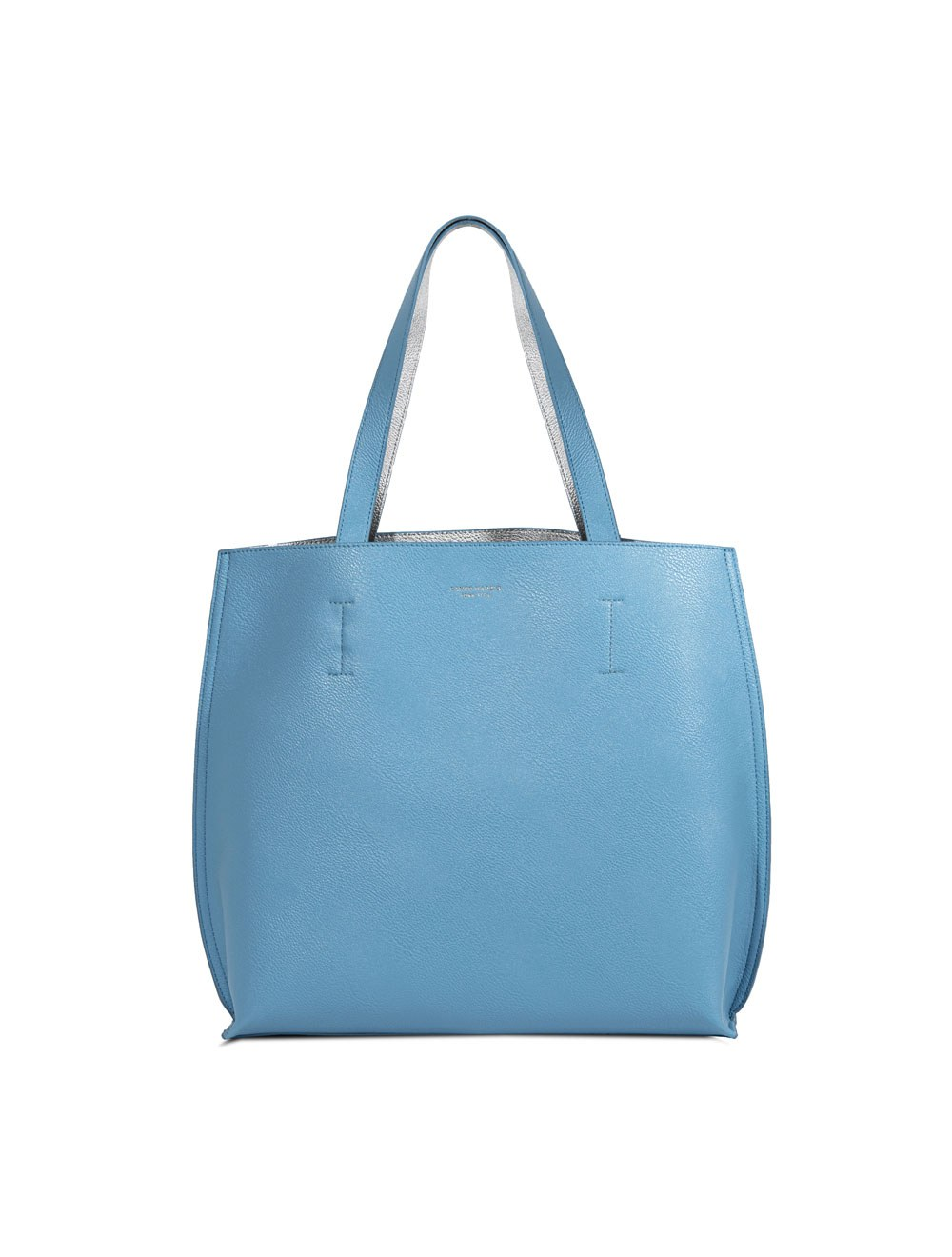 Double Tote Bag - Turquoise Blue