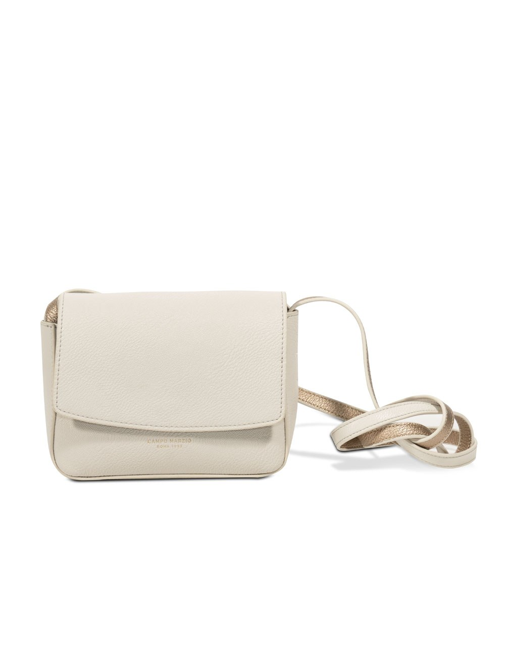 Mini Bag with Crossbody Strap - Off White