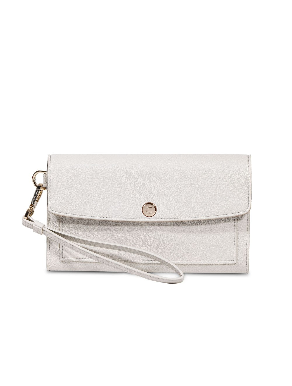 Wallet With Wristlet - Off White