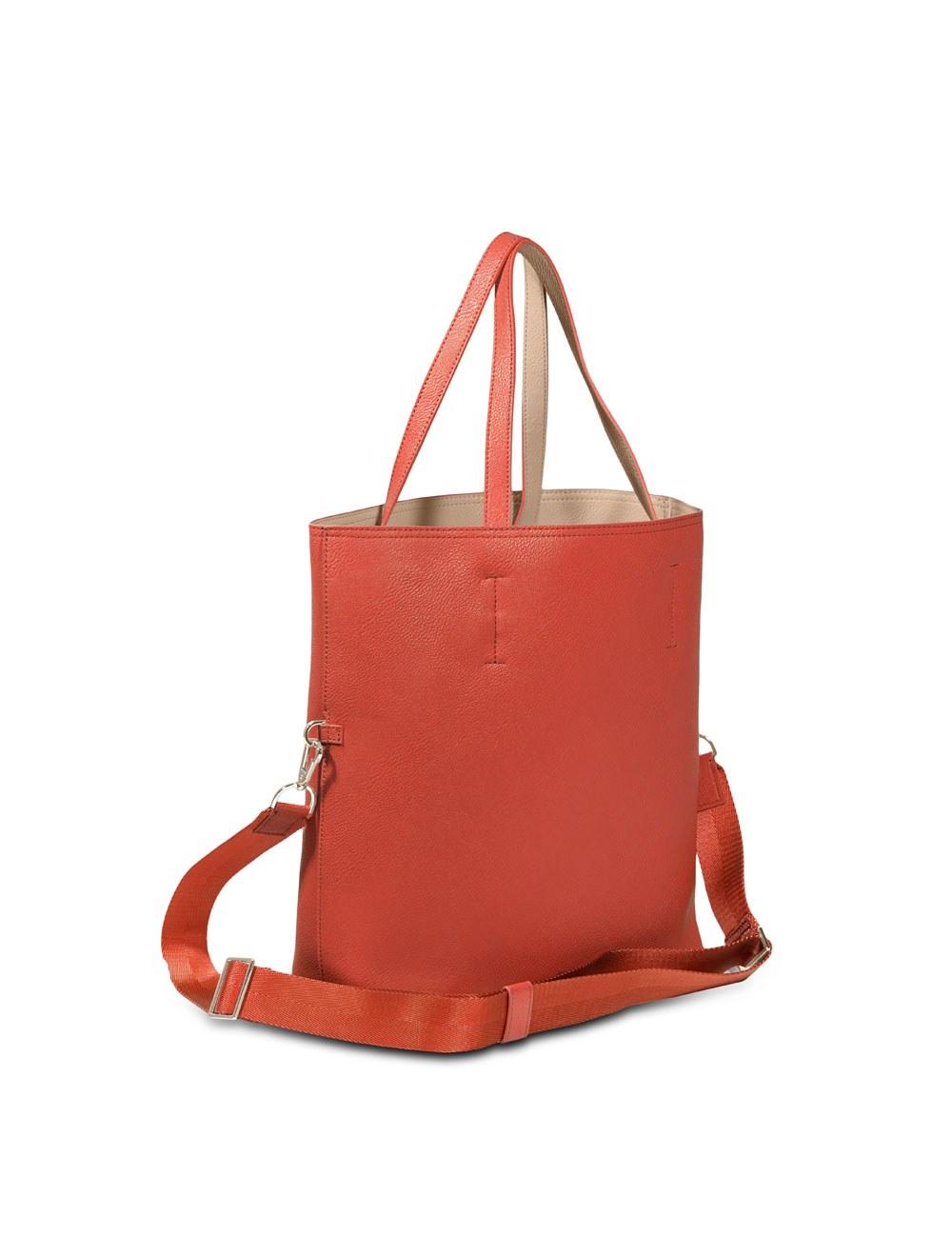 Reversible Tote Bag - Tangerine Tango