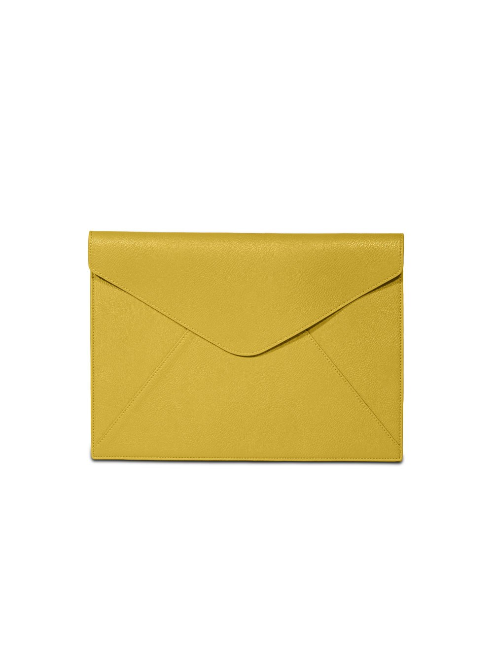 Document holder envelope A4 Fedor - Chartreuse
