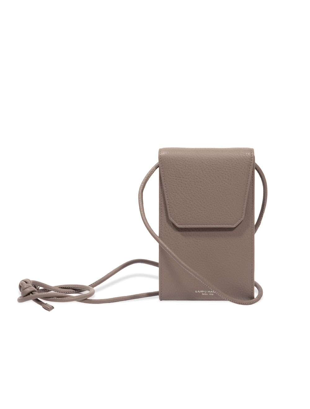 Phone Holder With Crossbody Strap - Taupe