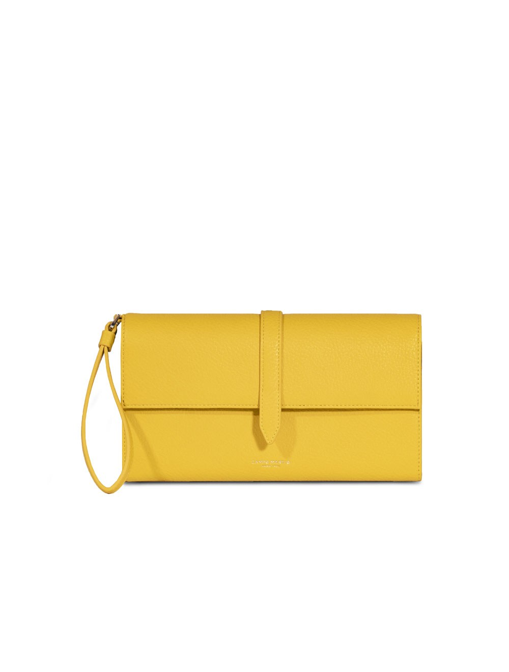 Travel Wallet - Canary Yellow
