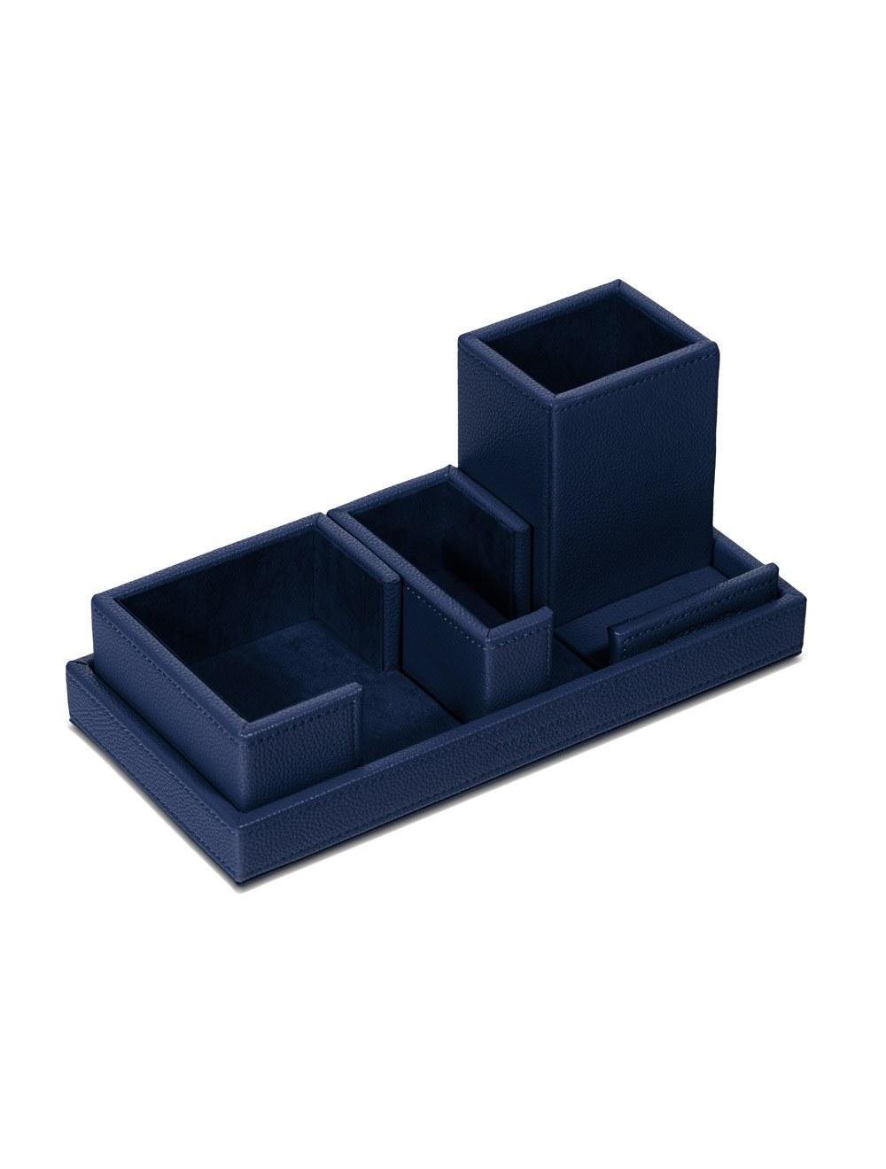 Desk Set Cartesio - Ocean Blue