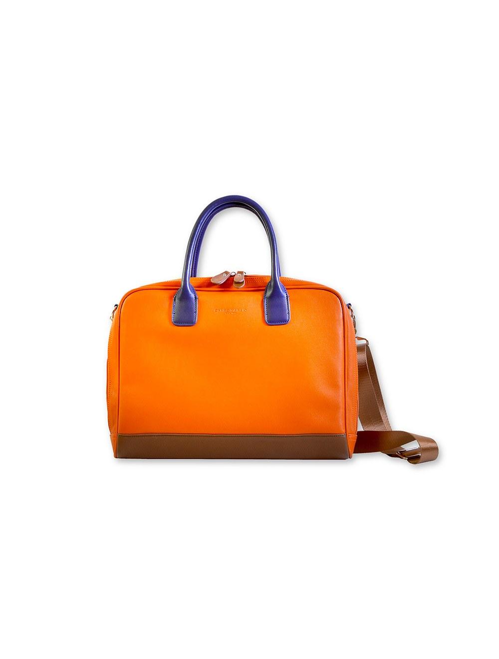 Moda Eco Computer Bag - Mandarin