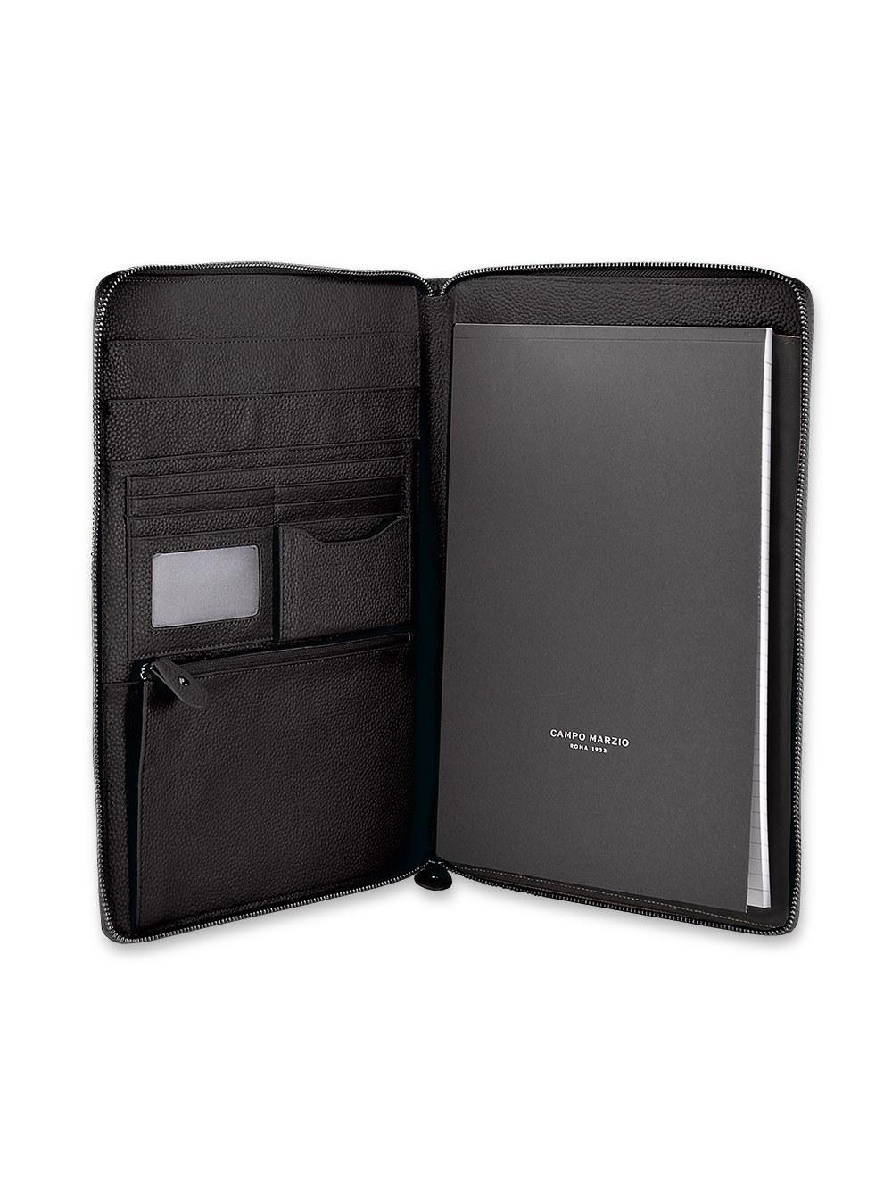 Portfolio Zip A4 - Black