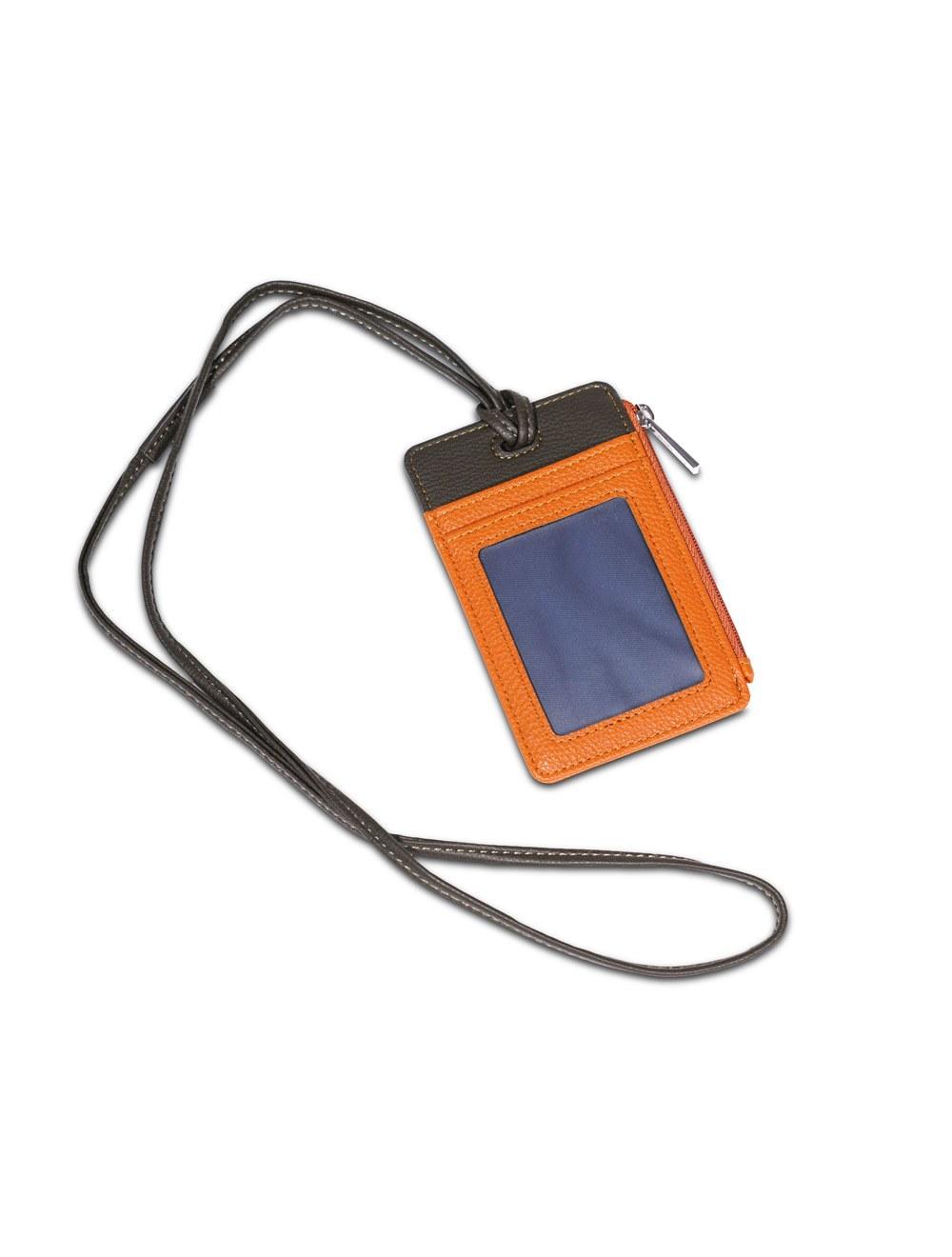 Neck Badge Holder Colombo - Mandarin