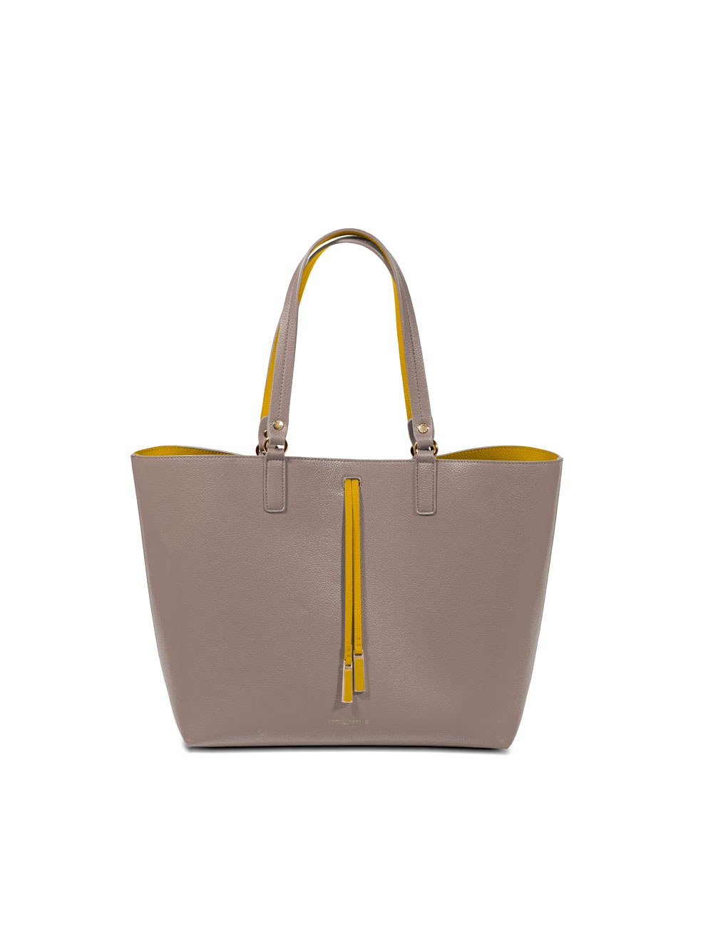 Shopper Bag With Inner Bag Maxi - Taupe