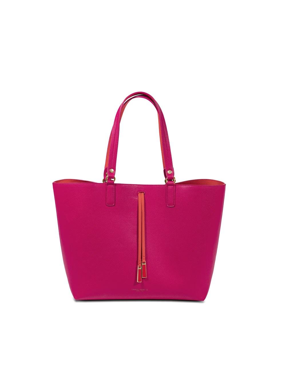 Shopper Bag With Inner Bag Maxi - Magenta