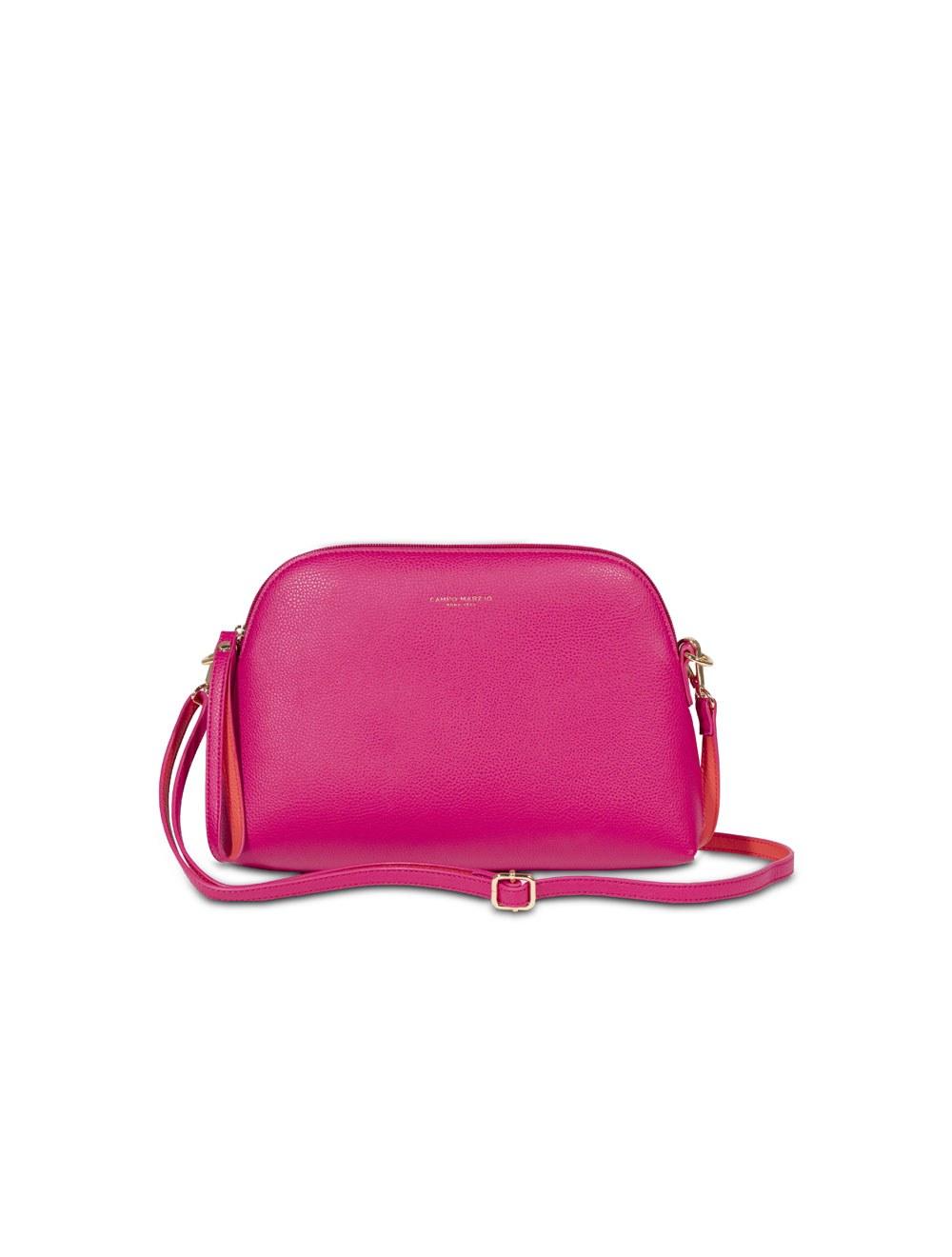 Bag With Crossbody Strap Mini - Magenta