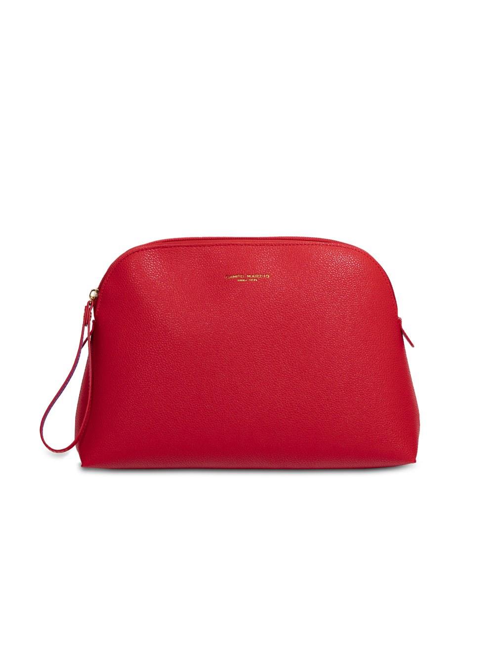 Bag with wristlet - Flame scarlet