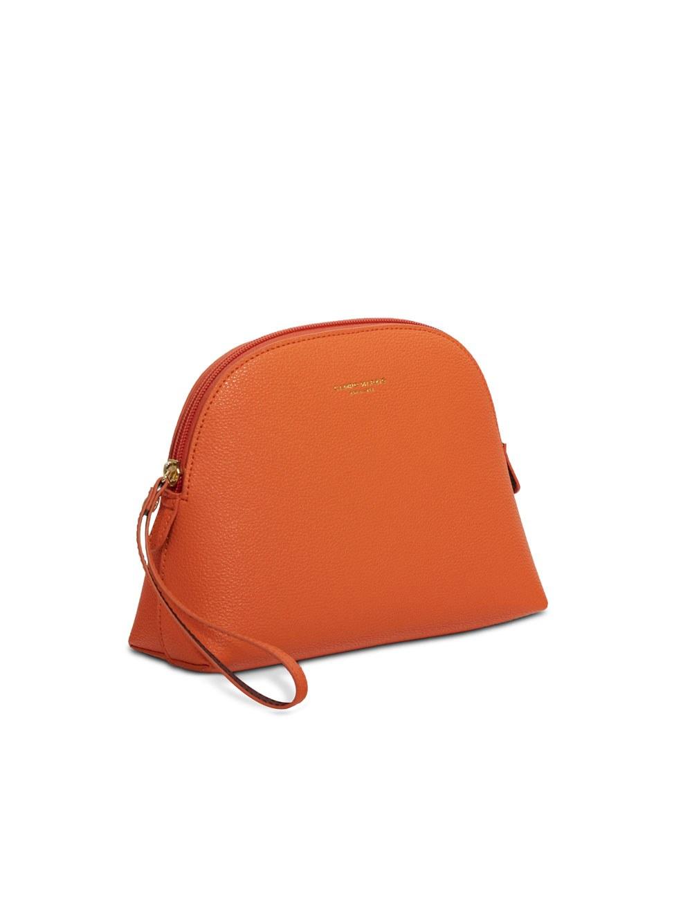 Pochette with zip mini - Apricot