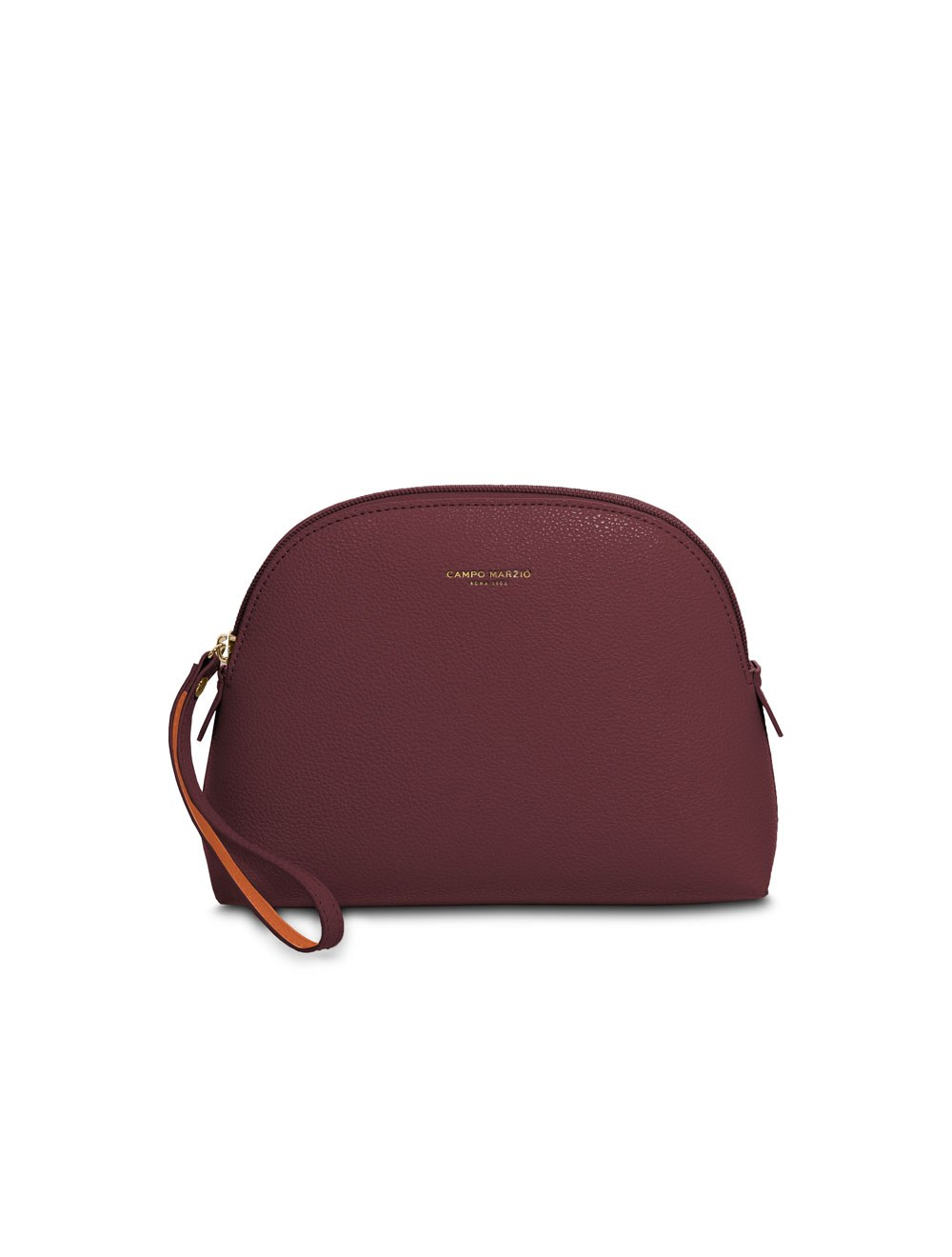 Bag with wrist strap small - Ruby wine