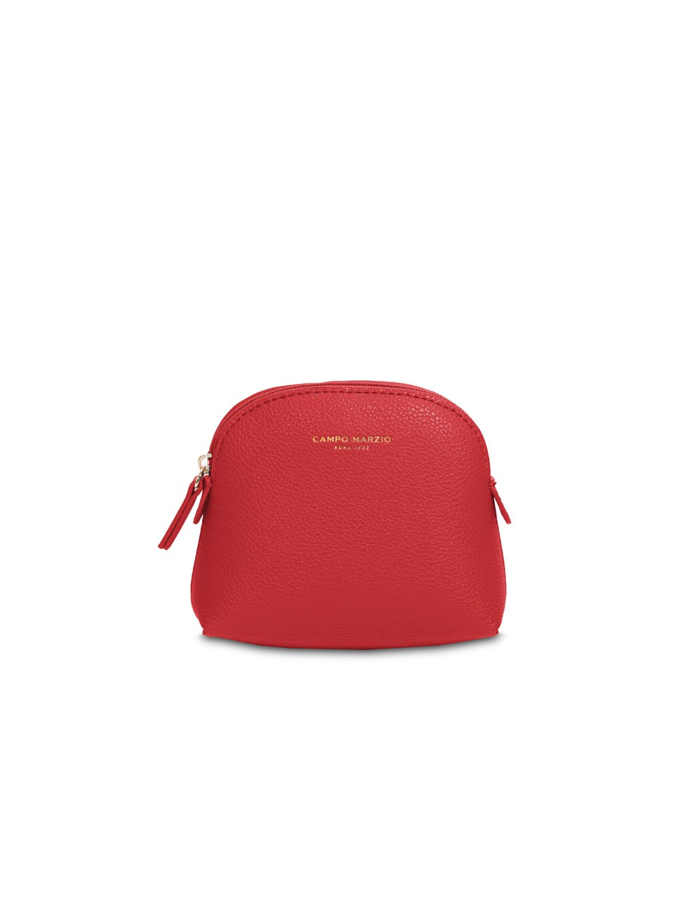 Pochette with zip mini - Flame scarlet