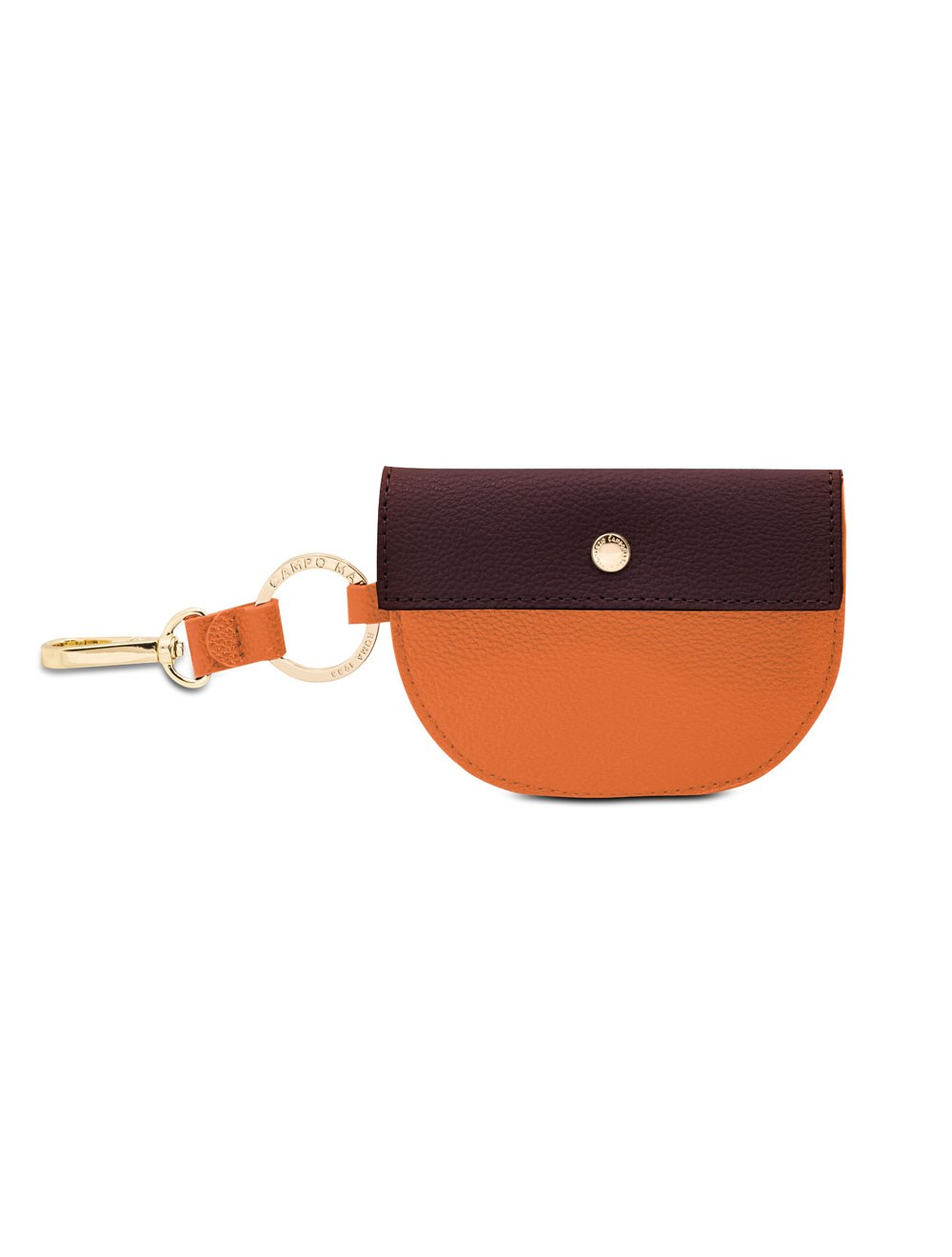 Snap coin holder - Apricot