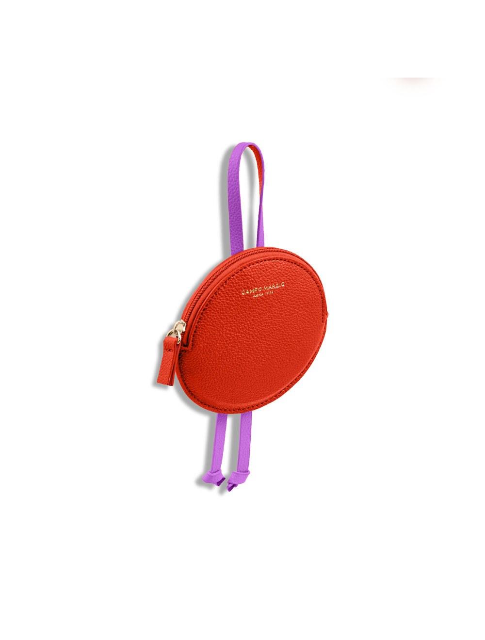 Keyring Circle - Flame scarlet