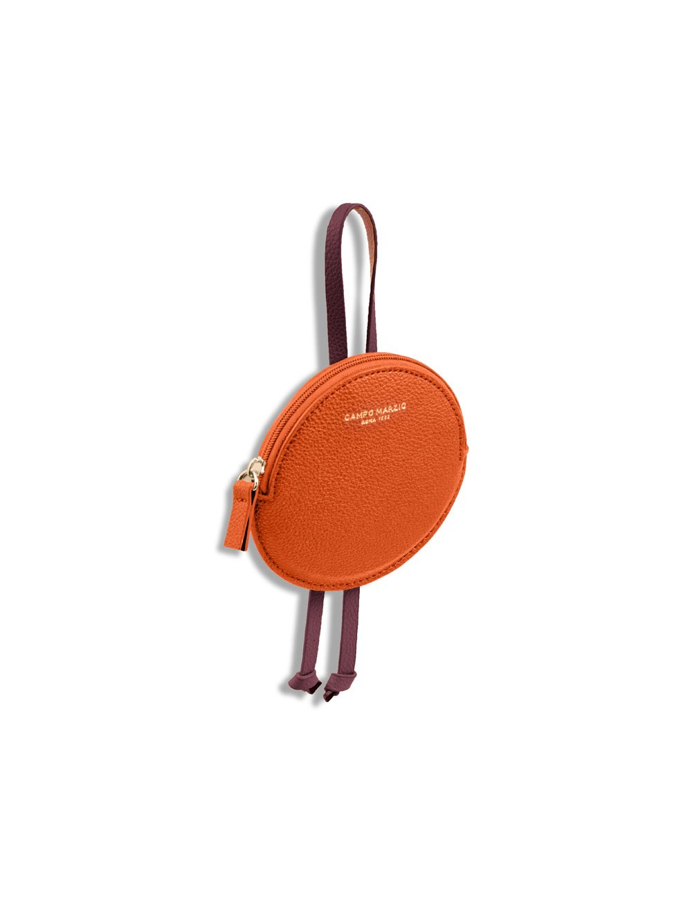 Keyring Circle - Apricot