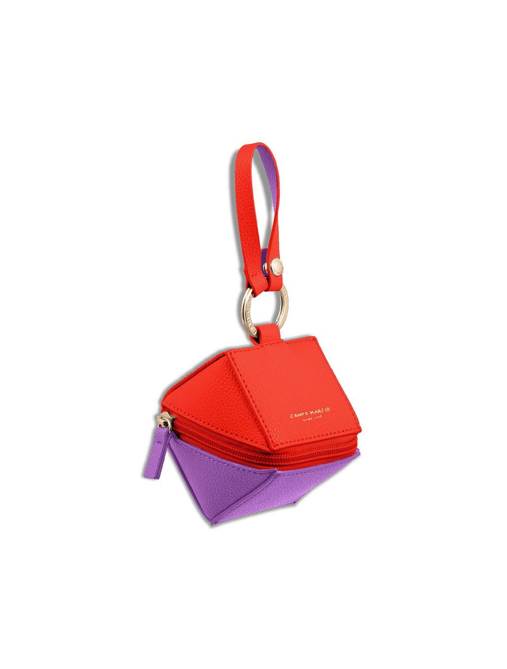 Keyring Cube - Flame scarlet
