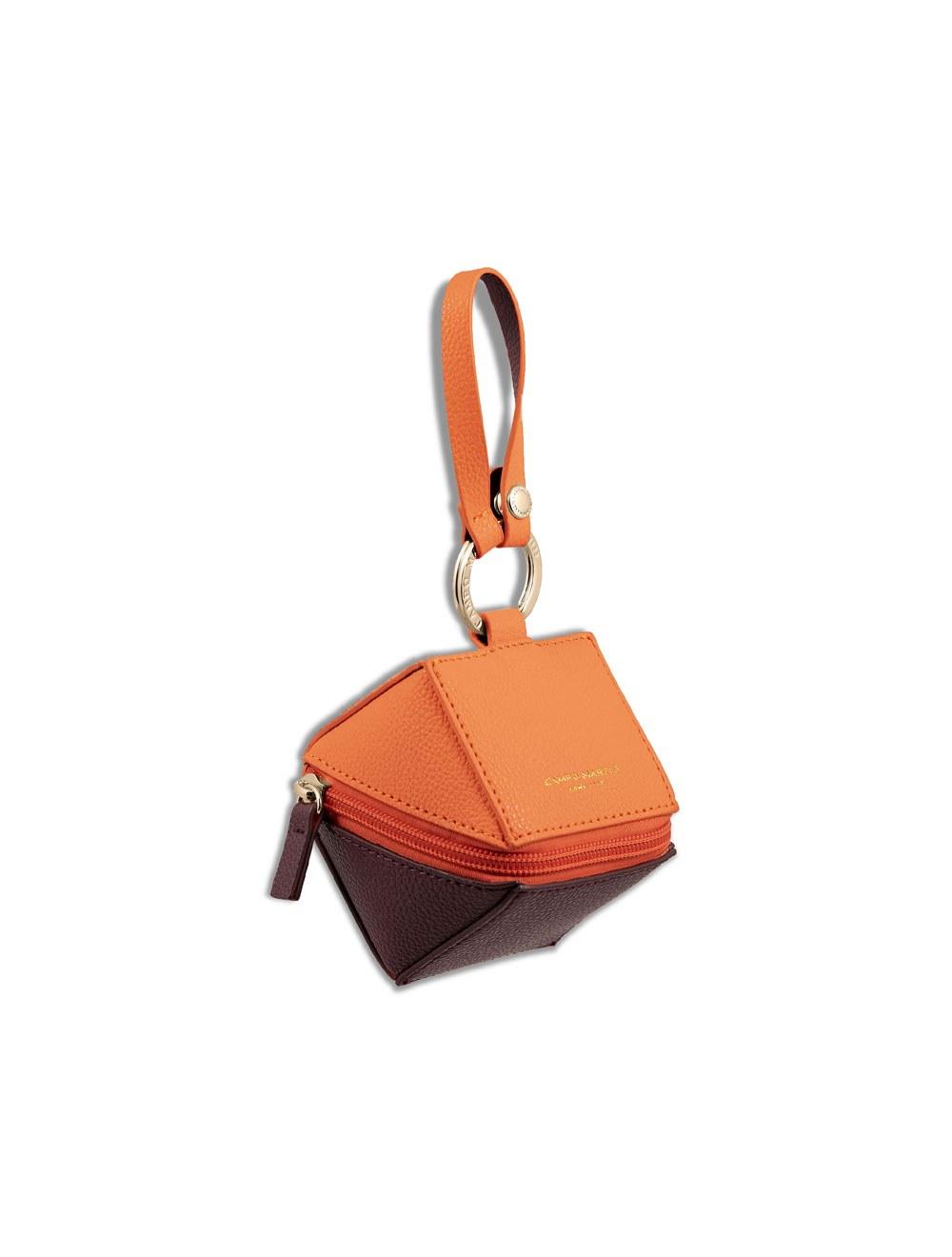 Keyring Cube - Apricot
