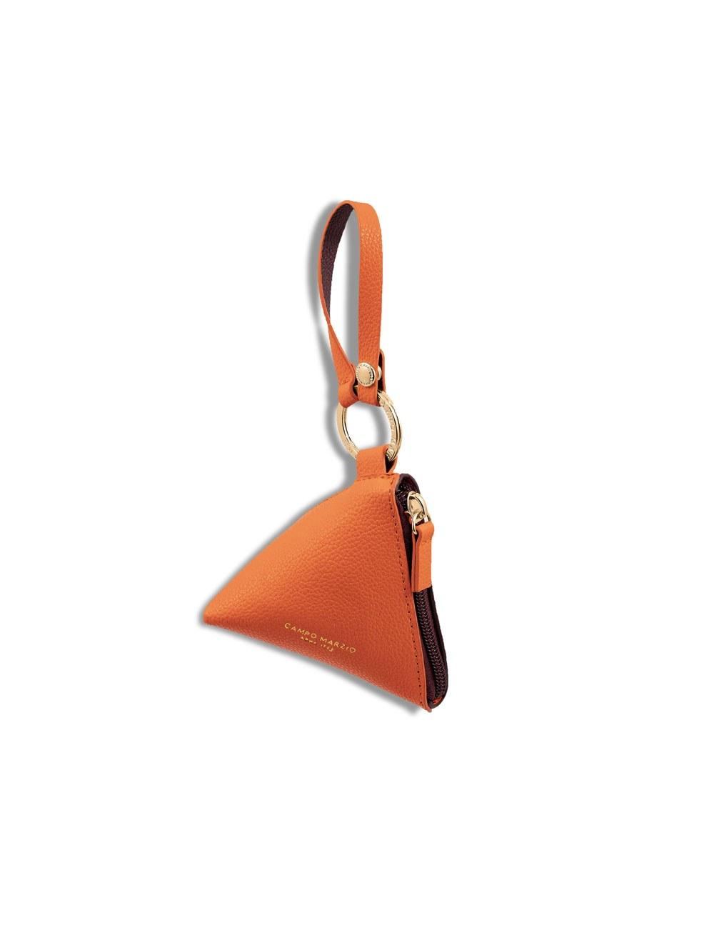 Keyring Triangle - Apricot