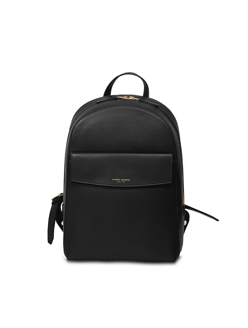 Business Backpack With Front Pocket - Black