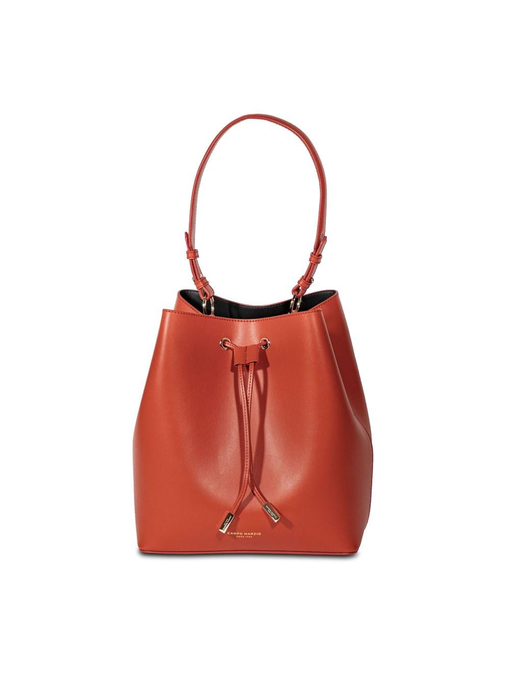 Bucket Bag - Tangerine Tango