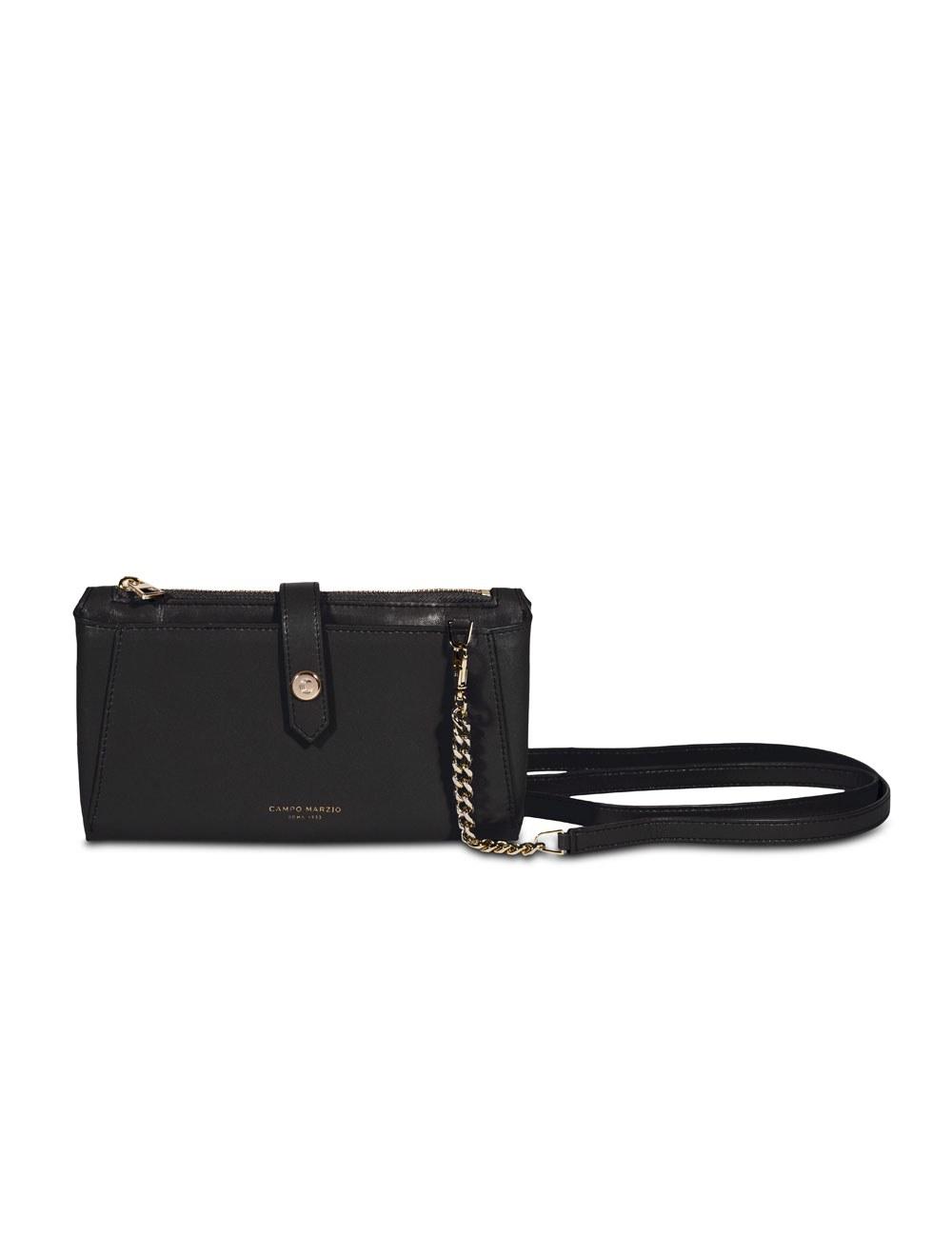 Bag Triple Compartments Mini - Black