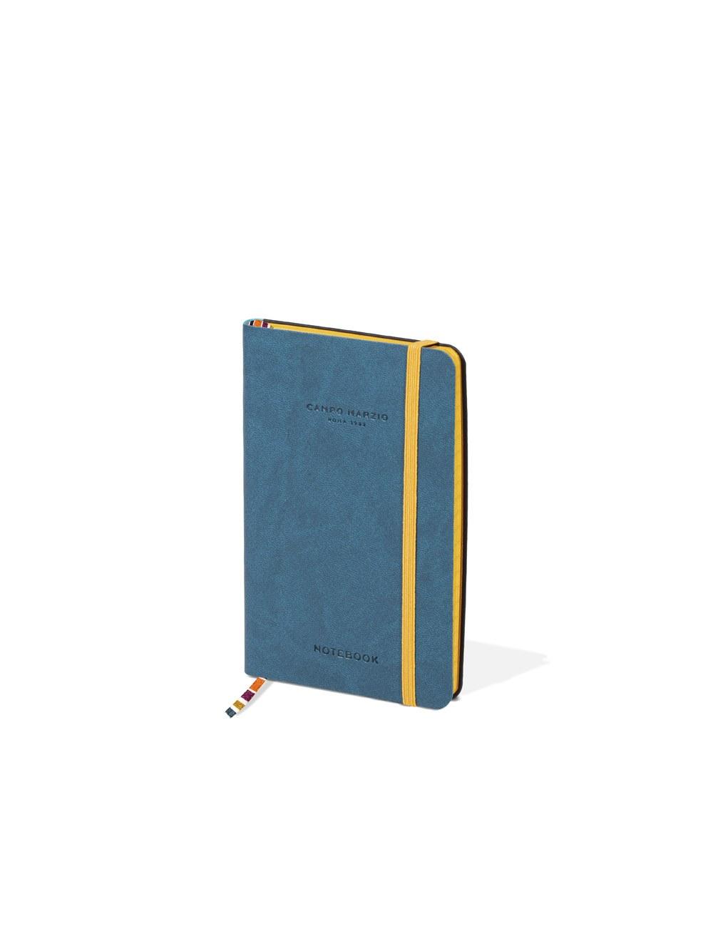 Notes 9x14 Colored Edge - Petrol Blue