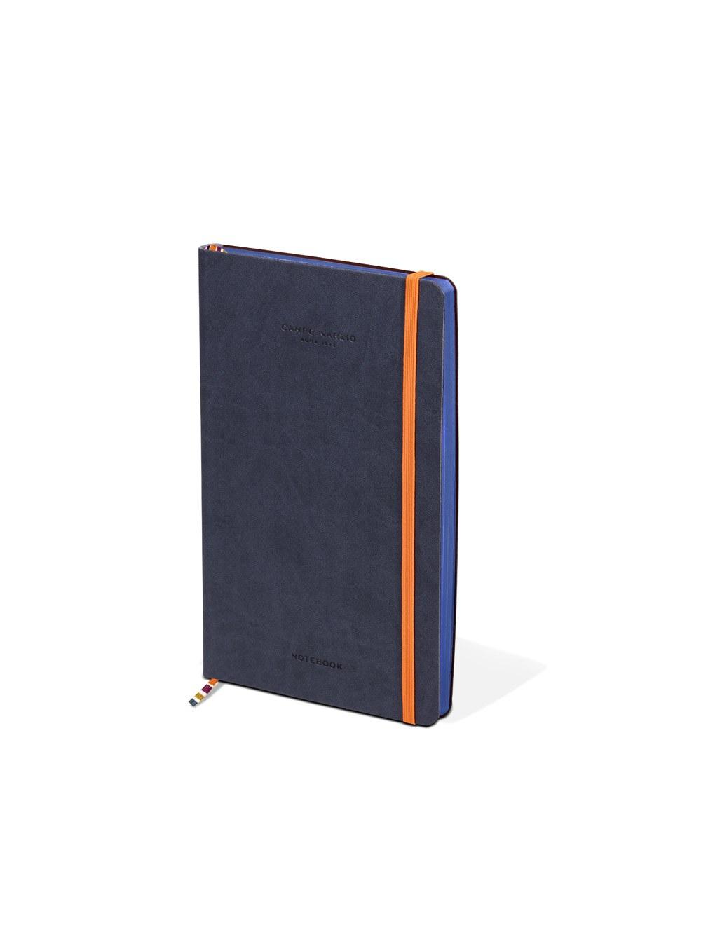 Notes 13x21 Colored Edge - Ocean Blue