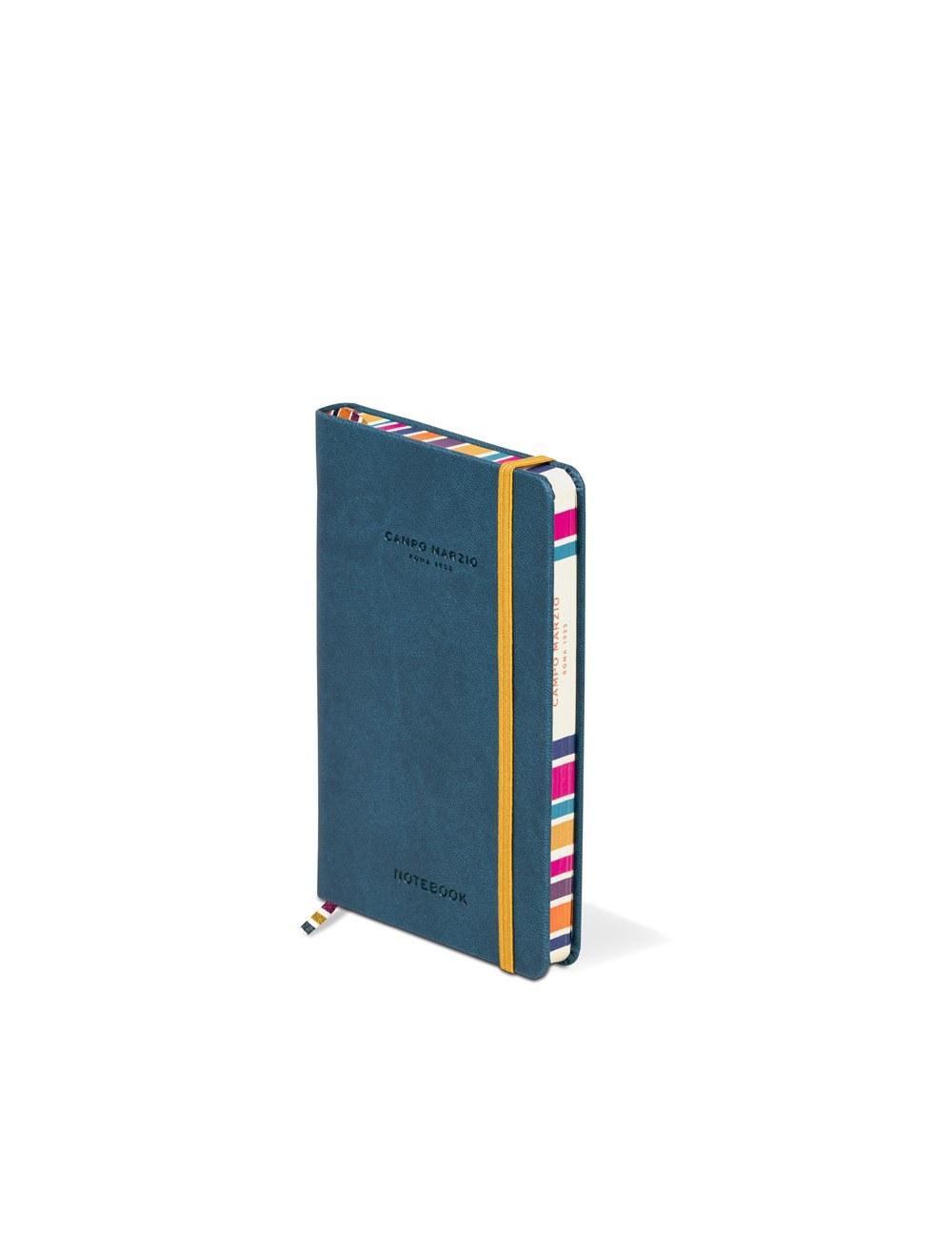 Notes 9x14 Multicolor Edge - Petrol Blue
