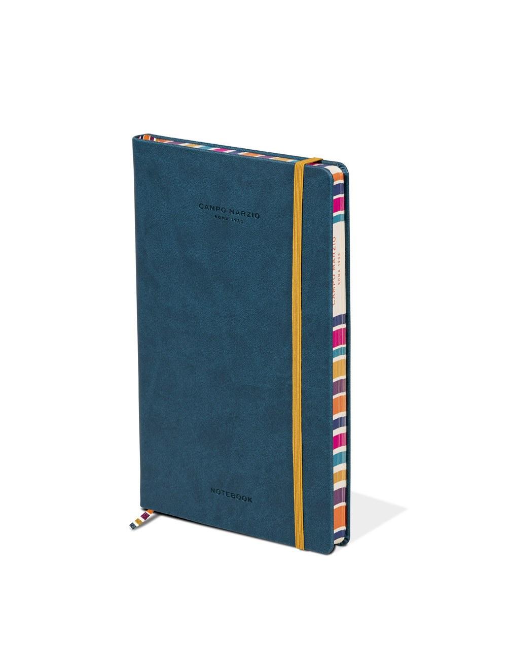Notes 13x21 Multicolor Edge - Petrol Blue