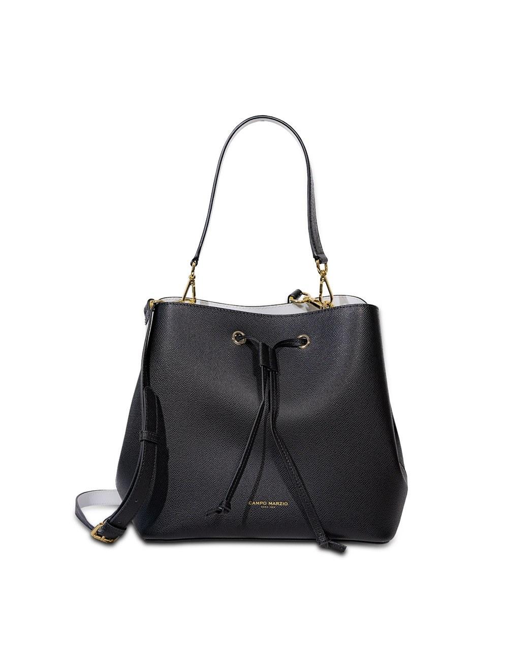 Anita Bucket Bag - Black