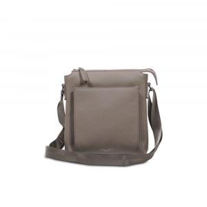 Vertical Messenger Bag With Crossbody Strap