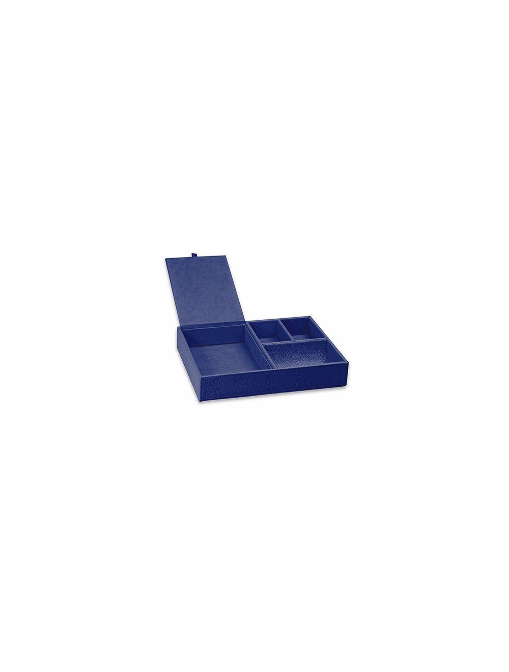 Organizer da scrivania - Blu Oceano