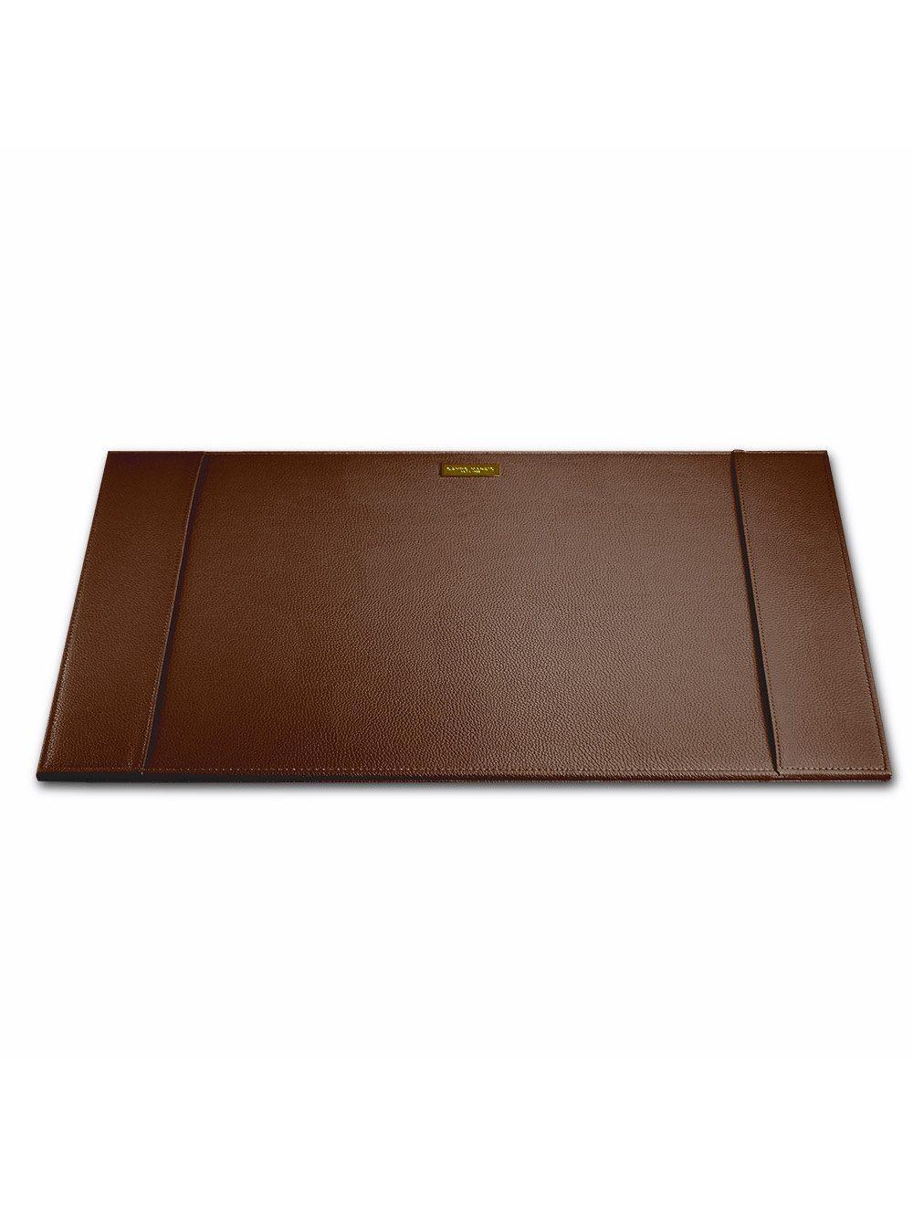Desk Pad Metal Plate - Brown