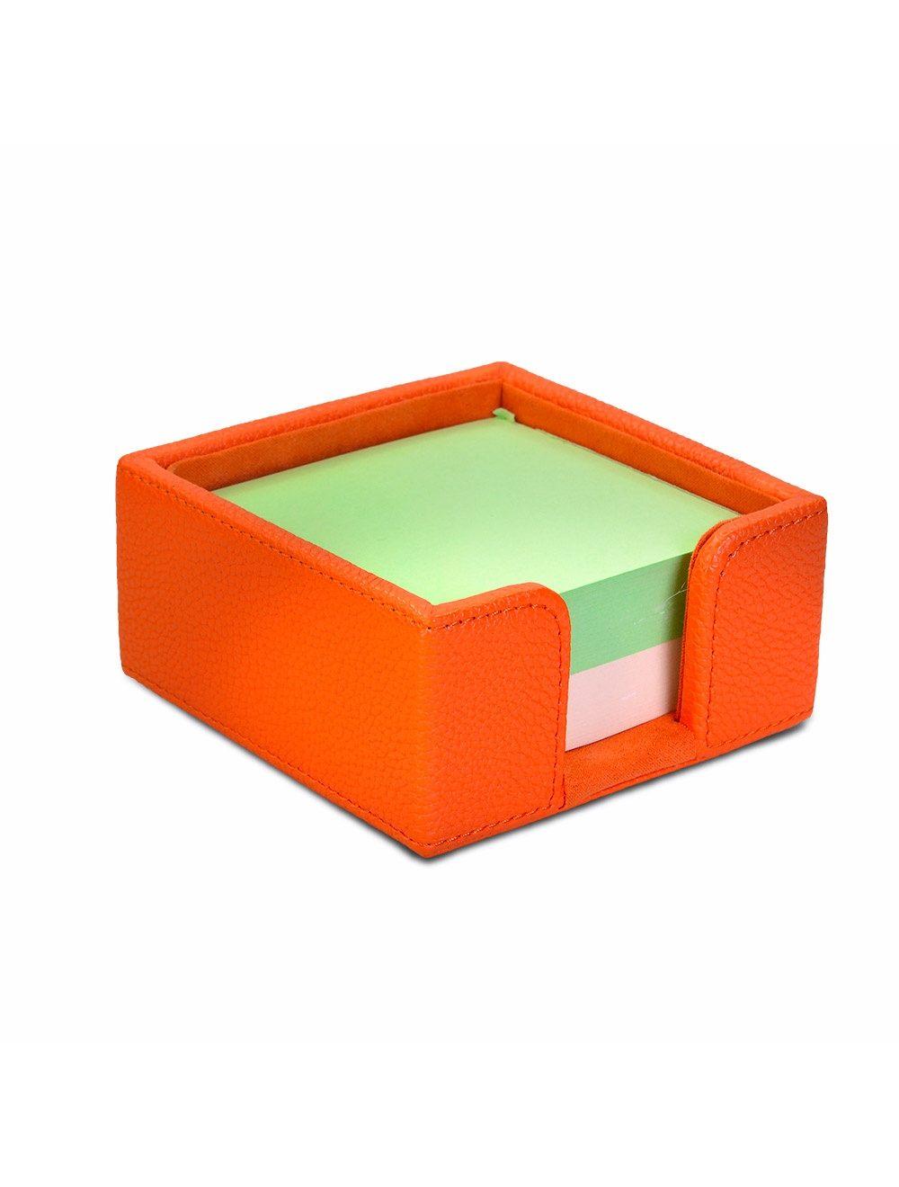 Memo Card Holder - Mandarin