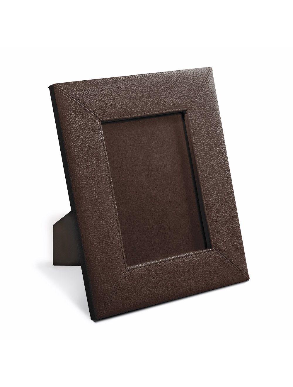 Photo Frame 13X18 Metal Plate - Brown